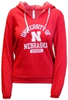 University of Nebraska VNeck Fleece Hoodie Nebraska Cornhuskers, Nebraska  Ladies Sweatshirts, Huskers  Ladies Sweatshirts, Nebraska  Ladies, Huskers  Ladies, Nebraska Red Vneck W Fleece Hoodie B84, Huskers Red Vneck W Fleece Hoodie B84