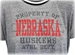Womens Huskers Property Ringer Crop - AT-C5087