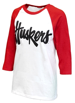 Womens Huskers Raglan Nebraska Cornhuskers, Nebraska  Ladies Tops, Huskers  Ladies Tops, Nebraska  Ladies T-Shirts, Huskers  Ladies T-Shirts, Nebraska  Ladies, Huskers  Ladies, Nebraska  Long Sleeve, Huskers  Long Sleeve, Nebraska Womens Huskers Raglan, Huskers Womens Huskers Raglan