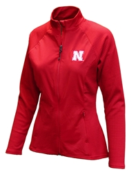 Womens Nebraska Antigua Jacket Nebraska Cornhuskers, Nebraska  Ladies, Huskers  Ladies, Nebraska  Ladies Outerwear, Huskers  Ladies Outerwear, Nebraska Womens Nebraska Antigua Jacket, Huskers Womens Nebraska Antigua Jacket