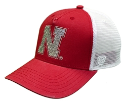 Womens Nebraska Prime Glitz Trucker Nebraska Cornhuskers, Nebraska  Ladies Hats, Huskers  Ladies Hats, Nebraska  Ladies Hats, Huskers  Ladies Hats, Nebraska Womens Nebraska Prime Glitz Trucker, Huskers Womens Nebraska Prime Glitz Trucker