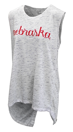 Womens Split Back Nebraska Tank Nebraska Cornhuskers, Nebraska Womens, Huskers Womens, Nebraska  Ladies T-Shirts, Huskers  Ladies T-Shirts, Nebraska  Ladies, Huskers  Ladies, Nebraska  Short Sleeve, Huskers  Short Sleeve, Nebraska Womens Split Back Nebraska Tank, Huskers Womens Split Back Nebraska Tank