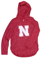 Youth Girls Swizzle Speckled LS Tee Nebraska Cornhuskers, Nebraska  Youth, Huskers  Youth, Nebraska  Kids, Huskers  Kids, Nebraska Youth Girls Swizzle Speckled LS Tee, Huskers Youth Girls Swizzle Speckled LS Tee