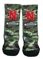 Youth N Veterans Camo Rockem Socks Nebraska Cornhuskers, Nebraska  Youth, Huskers  Youth, Nebraska  Kids, Huskers  Kids, Nebraska Youth N Veterans Camo Rockem Socks, Huskers Youth N Veterans Camo Rockem Socks