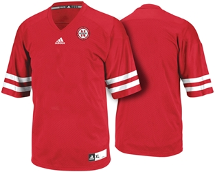 8416387bfa9 Youth Adidas Red Customized Jersey Nebraska Cornhuskers
