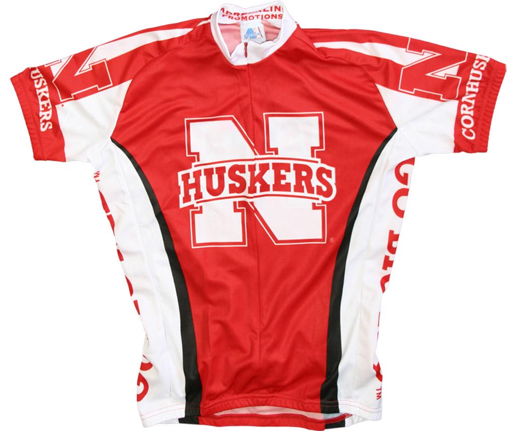 wholesale dealer 7dbc8 4a344 Nebraska Huskers Cycling Jersey