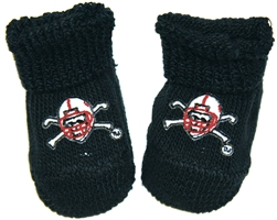 Blackshirt Booties Nebraska Cornhuskers, husker football, nebraska cornhuskers merchandise, nebraska merchandise, husker merchandise, nebraska cornhuskers apparel, husker apparel, nebraska apparel, husker infant and toddler apparel, nebraska cornhuskers infant and toddler apparel, nebraska kids apparel, husker kids apparel, husker kids merchandise, nebraska cornhuskers kids merchandise,Blackshirt Booties
