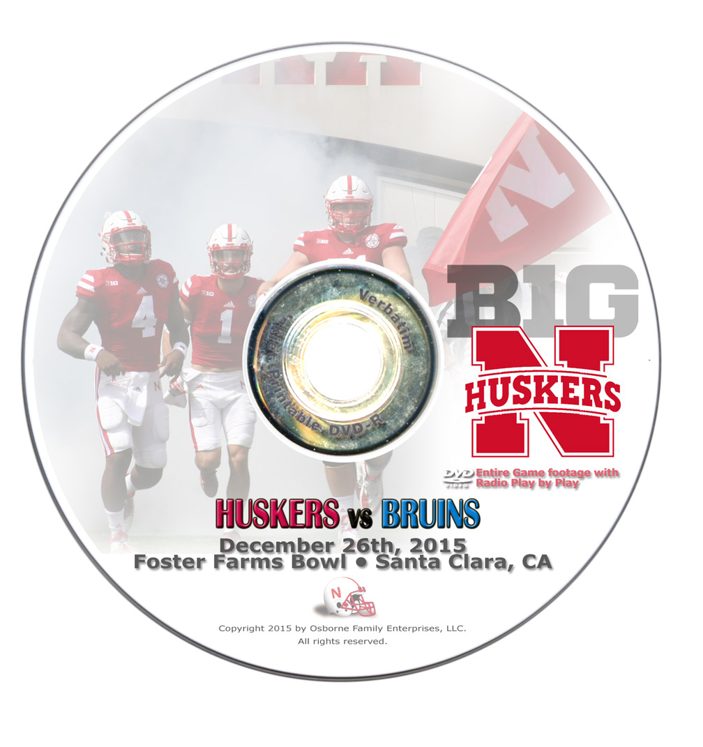 2015 Foster Farms Bowl vs UCLA DVD