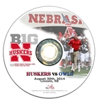 2014 Nebraska vs Florida Atlantic DVD