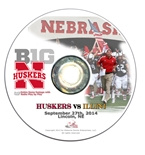 2014 Nebraska vs Illinois DVD