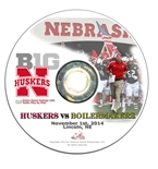 2014 Nebraska vs Purdue DVD