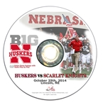 2014 Nebraska vs Rutgers DVD
