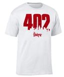 402 Huskers City Scape Tee - White