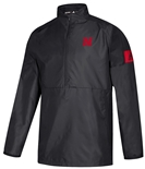 Adidas 2019 Nebraska Coaches Official Sideline Quarter Zip - Black