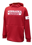 Adidas 2019 Official Huskers Sideline Game Mode Hoodie