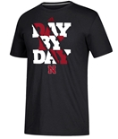 Adidas Day By Day Nebraska Football Tee
