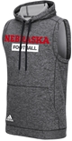 Adidas Nebraska Macho Tech Fleece Sideline Hoody
