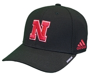 Adidas Huskers 2020 Coaches Fitted Flex Cap