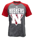 Adidas Huskers 3 Point Splat Raglan