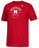 Adidas Huskers Nation Established Tee
