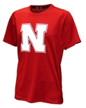 Adidas Huskers Sideline N Training Tee - Red