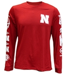 Adidas Huskers Speed Sleeves Climalite L/S Tee