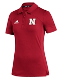 Adidas Huskers Womens 2020 Sideline Polo
