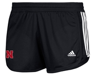 Adidas N Ladies 3 Stripe Black Short
