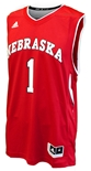 Adidas Nebraska Basketball Home 1 Jersey