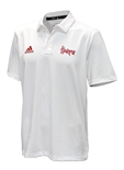 Adidas Nebraska Game Mode Coordinator Polo - White