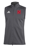 Adidas Nebraska Game Mode Full Zip  Vest