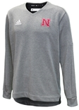 Adidas Nebraska Game Mode Lined V-Neck