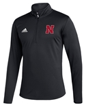 Adidas Nebraska Knit UTL 2020 Quarter Zip - Black