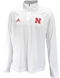 Adidas Nebraska Knit UTL 2020 Quarter Zip - White
