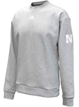 Adidas Nebraska Must Have 3-Stripe Crew