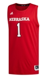 Adidas 2019 Nebraska Swingman 1 Basketball Jersey