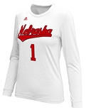 Adidas Nebraska Volleyball Replica Home Jersey Top