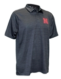 Adidas Official 2019 Husker Coaches Sideline Game Mode Polo - Black
