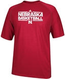 Adidas Nebraska Basketball Tee