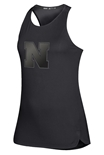 Adidas Womens Nebraska N Game Mode Tank - Black