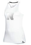 Adidas Womens Nebraska N Game Mode Tank - White