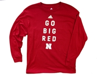 Adidas Youth Go Big Red Locker Tee