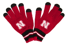 Adidas Youth Go Huskers Tech Gloves
