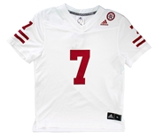 Adidas Youth Nebraska Frost Away Jersey