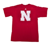 Adidas Youth Nebraska N GoTo Tee
