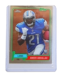 Ameer Abdullah Detroit Lions Collectors Card