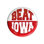 Beat Iowa Button