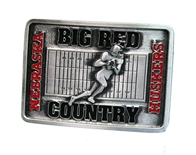 Big Red Country Belt Buckle