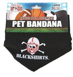 Blackshirts Dog Collar Bandana