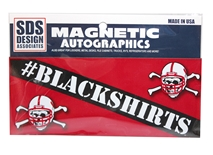 Blackshirts Slant Mini Magnet